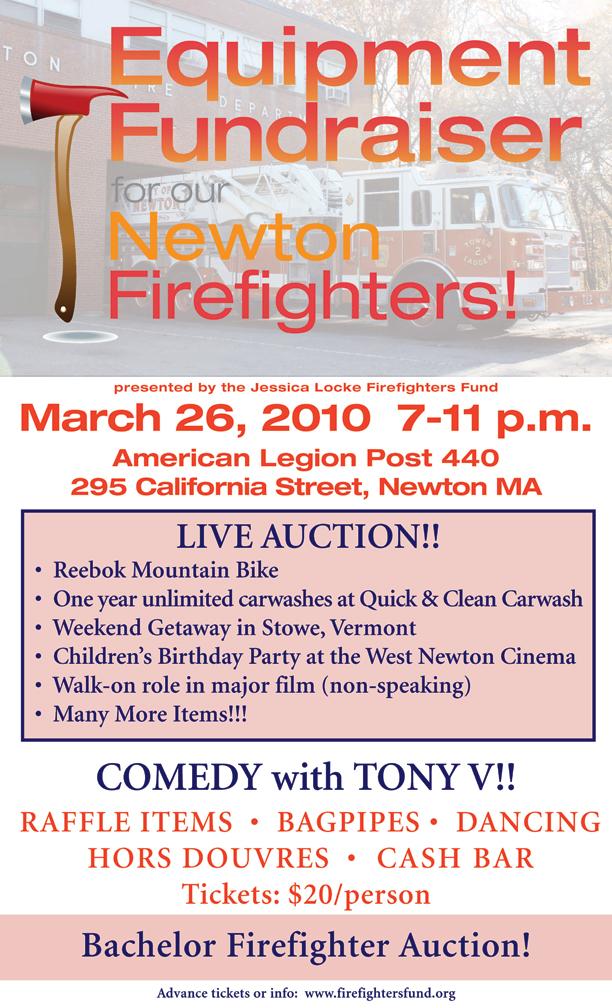Equipment Fundraiser for Newton Firefighters – Jessica Locke